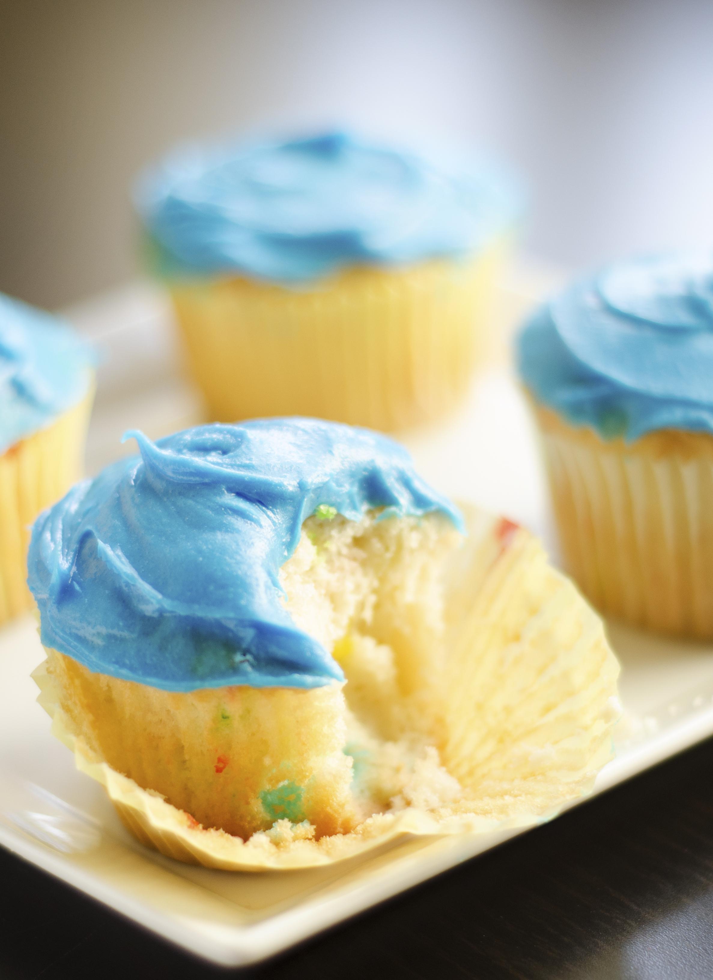 Magdalenas azules