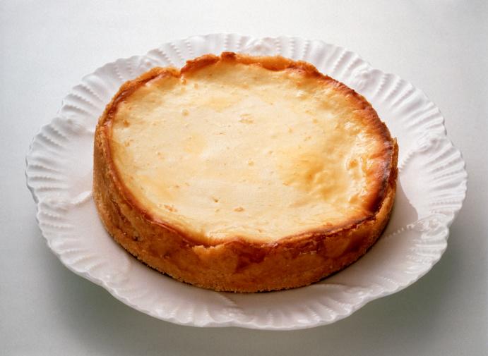 Pastel de queso de Idiazábal