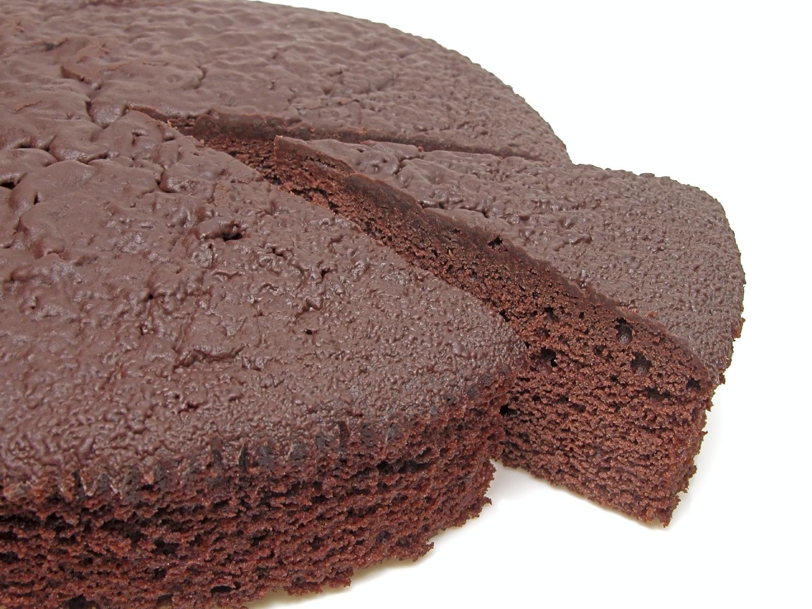Pastel de crema de cacao