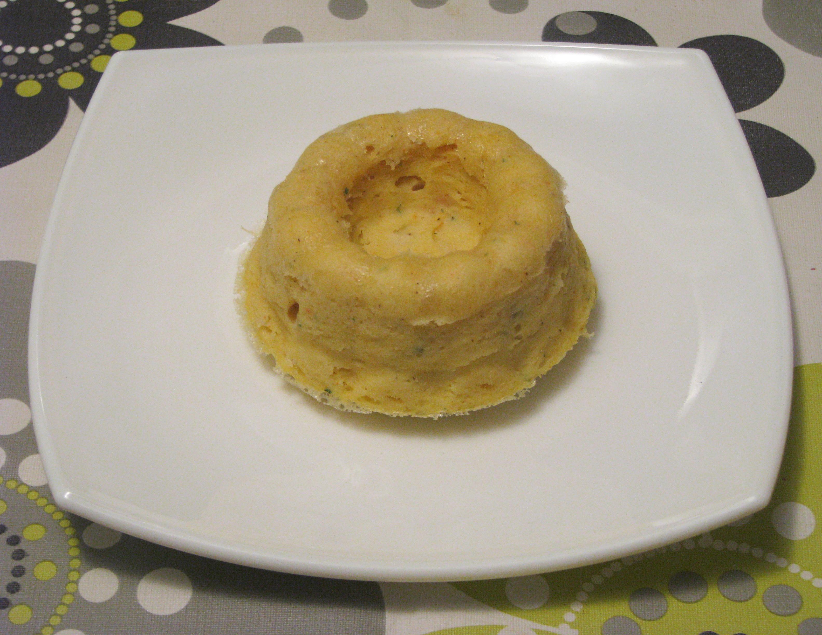 Pastel de surimi en microondas