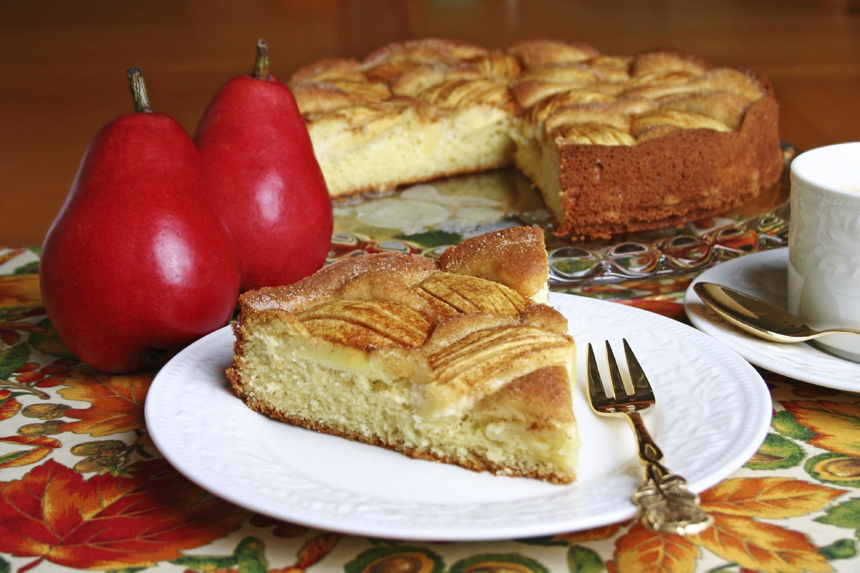 Pastelito sencillo de manzana