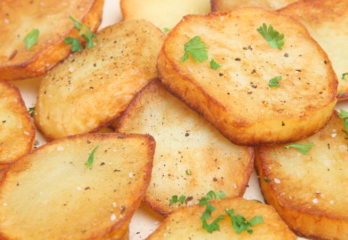 Patatas asadas al estilo murciano