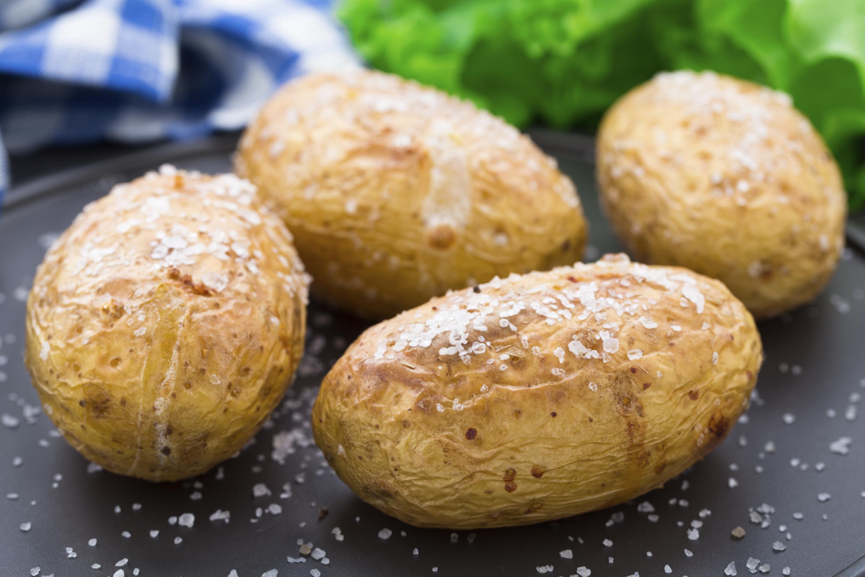 Patatas a las brasas