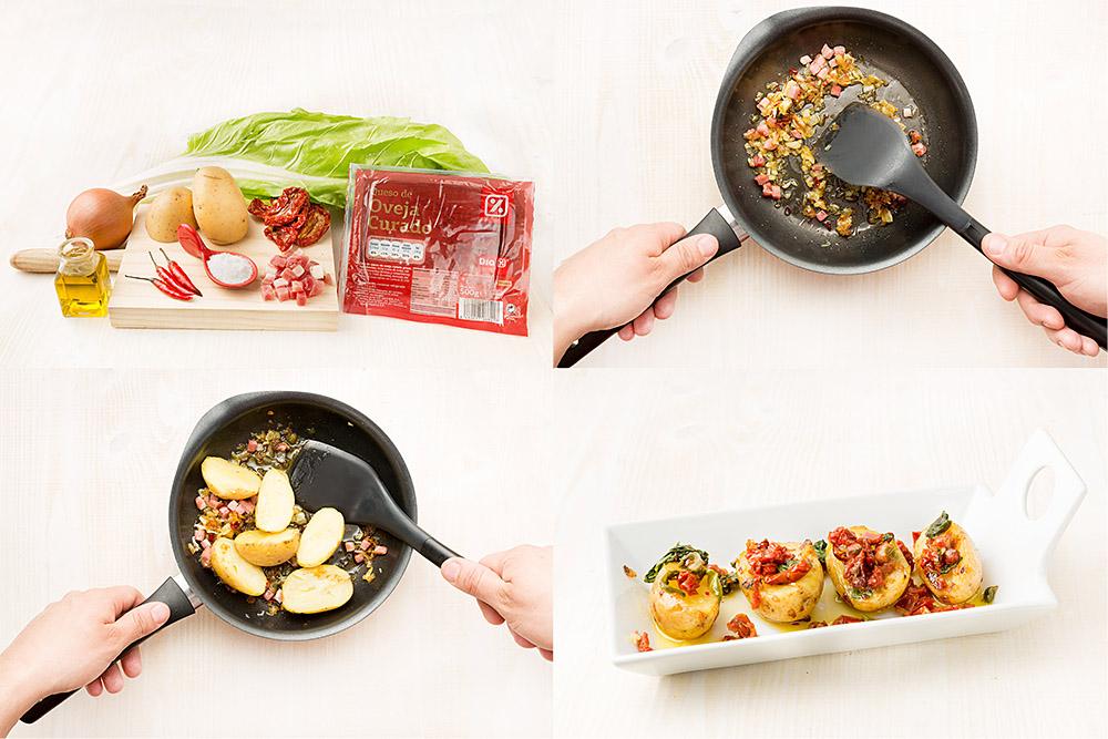 Patatas picantes al estilo México