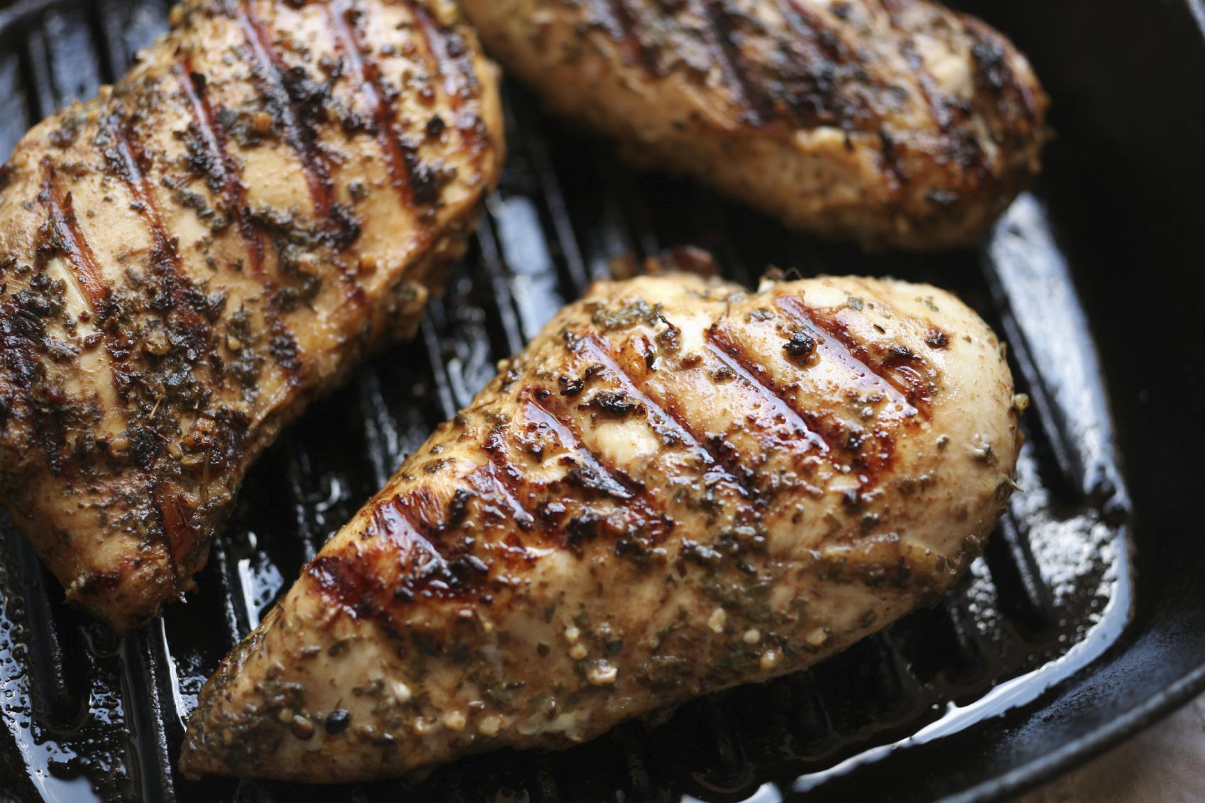 Pechuga de pollo especiada