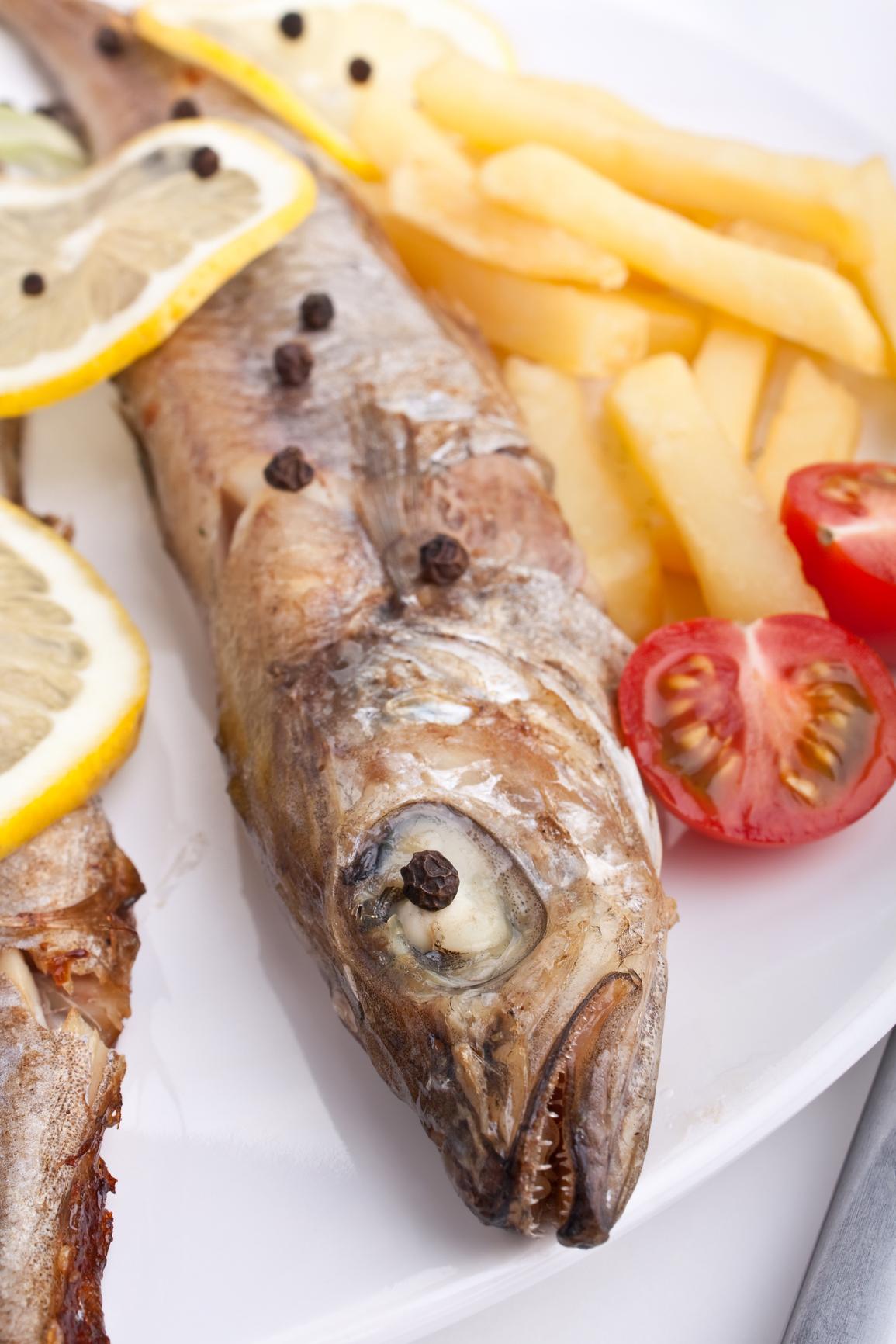 Pescadillas con patatas