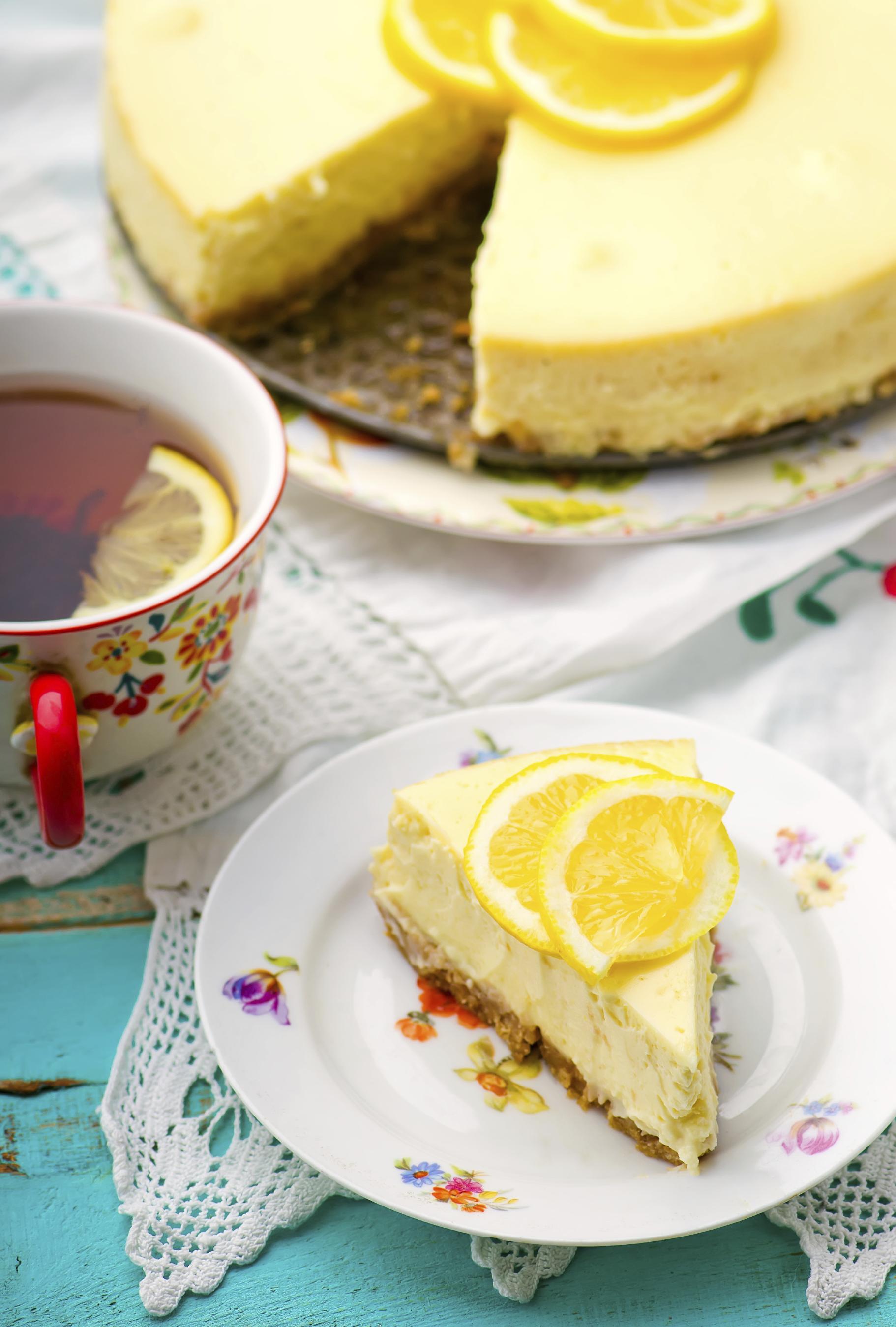 Pie de limón cremoso