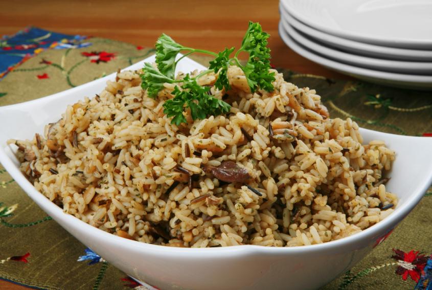 Pilaf de arroz Persa