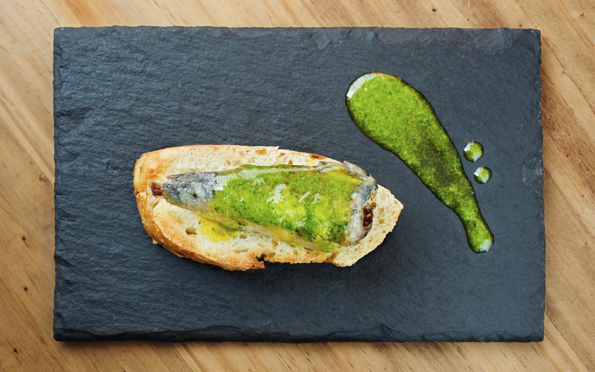 Pincho de sardina