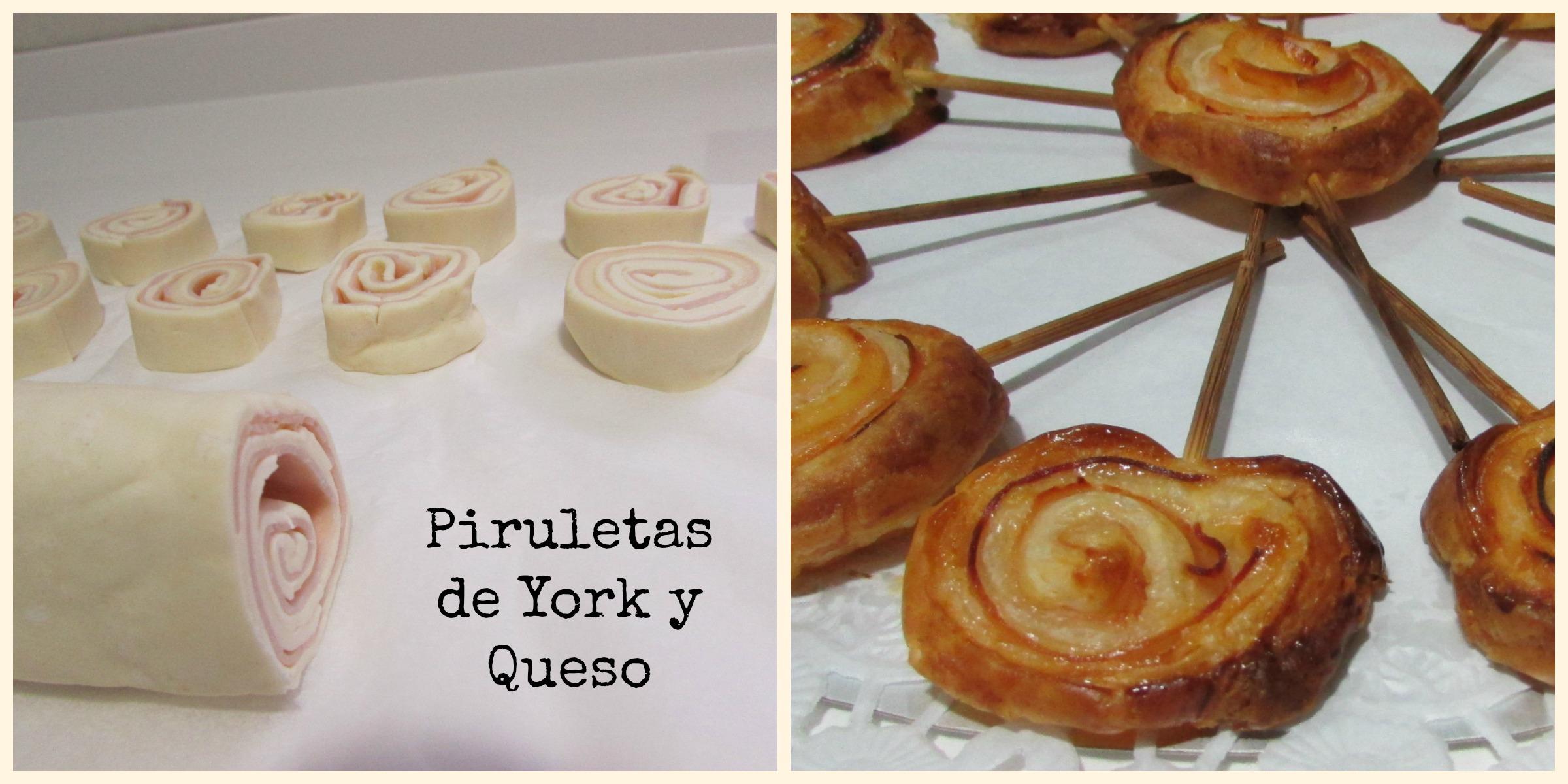 PIRULETAS DE YORK Y QUESO