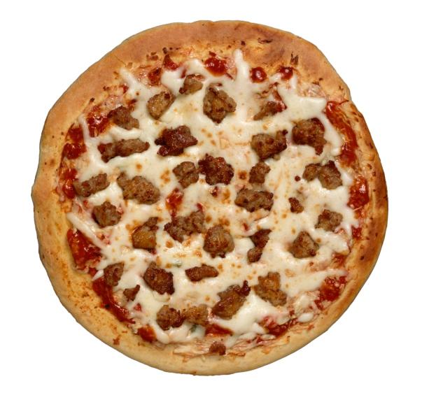 Pizza de salchichas