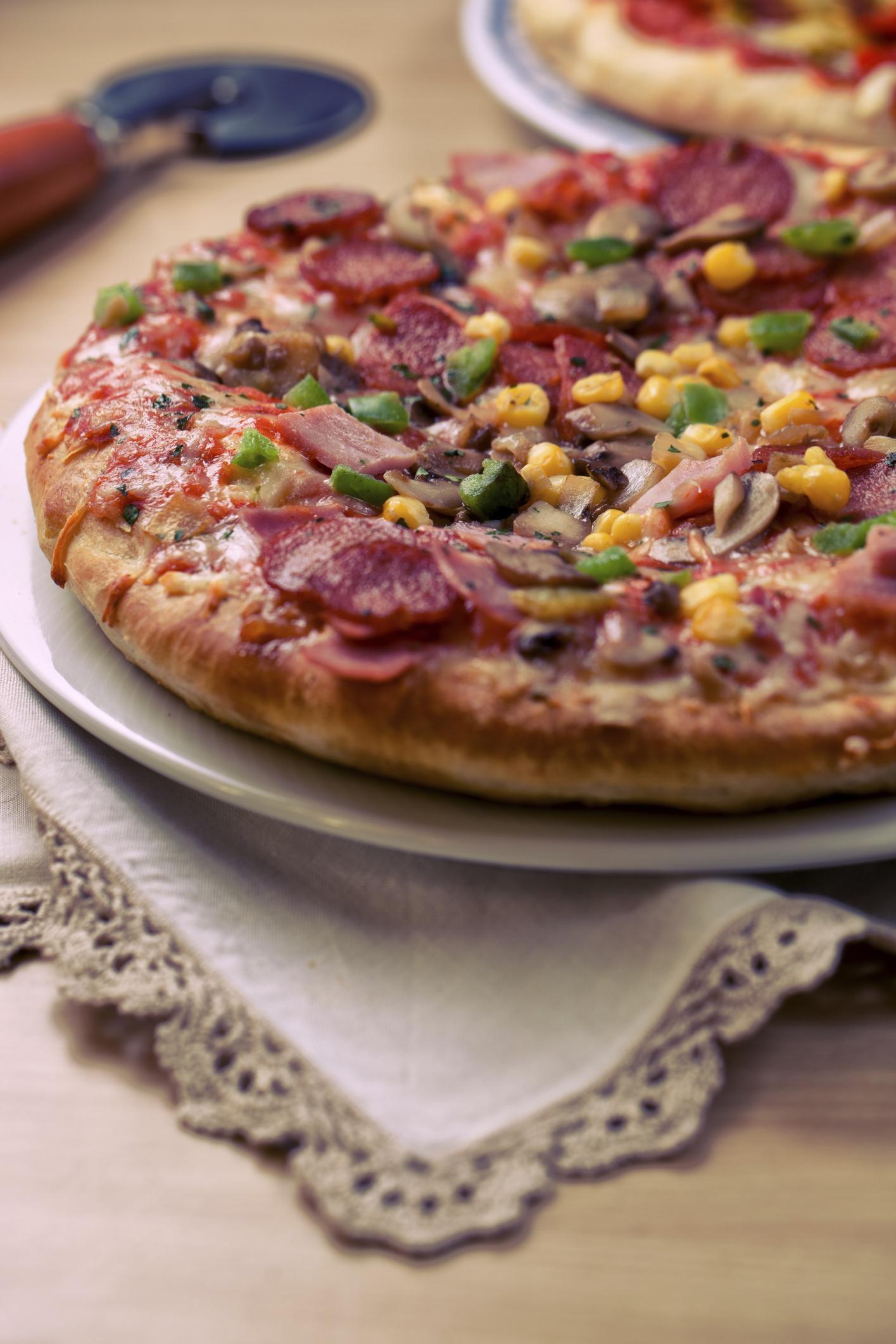 Pizza moderna