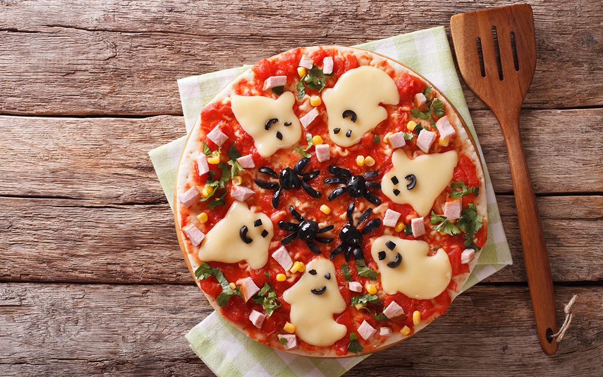 Pizza de Halloween