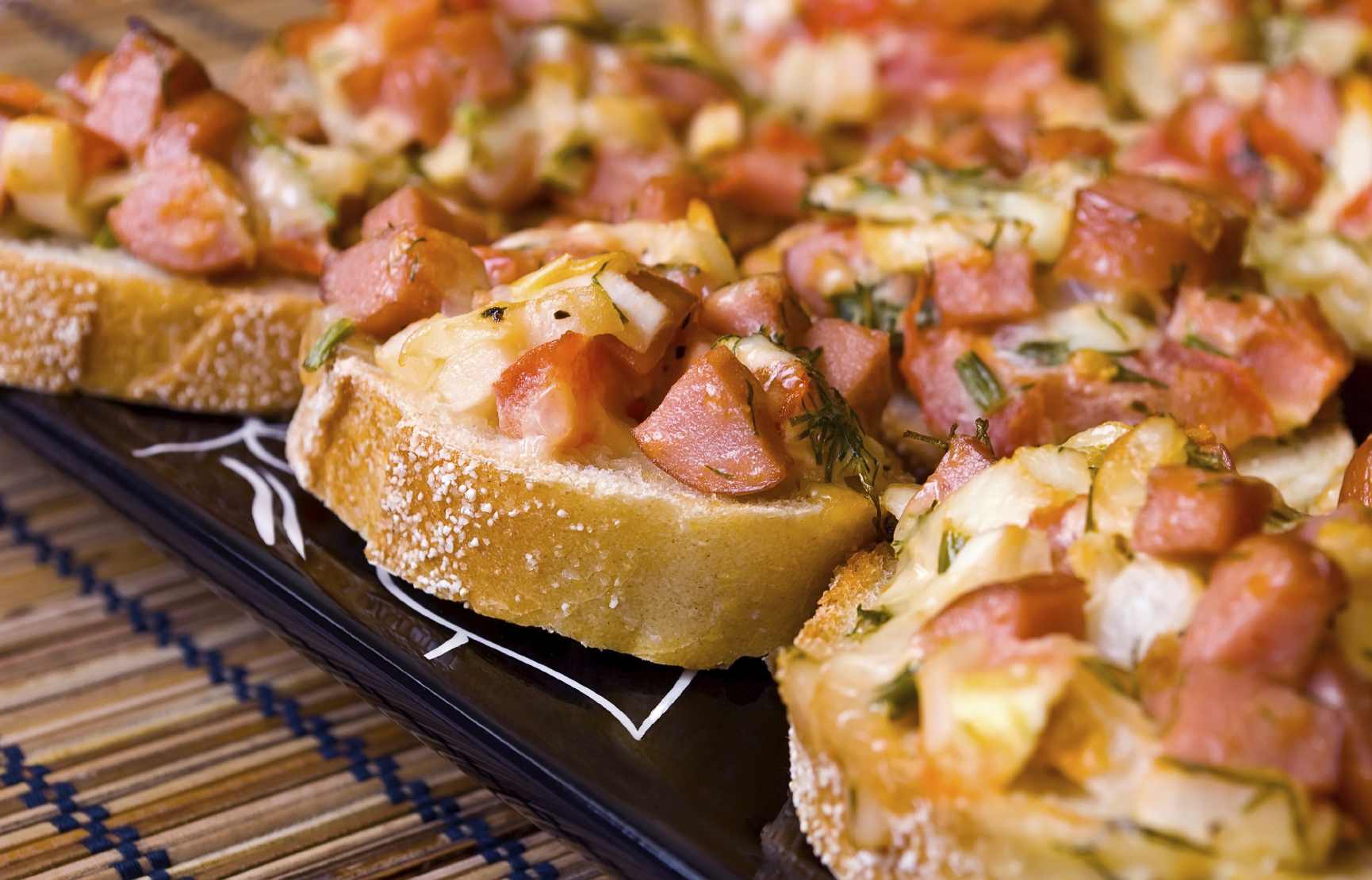 Pizzetas con cubierta distinta