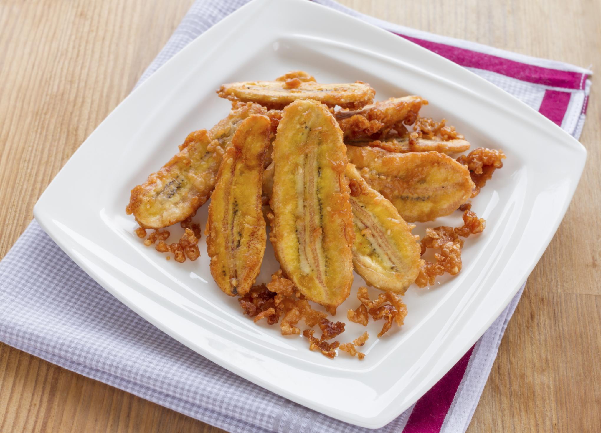 Plátanos fritos picantes