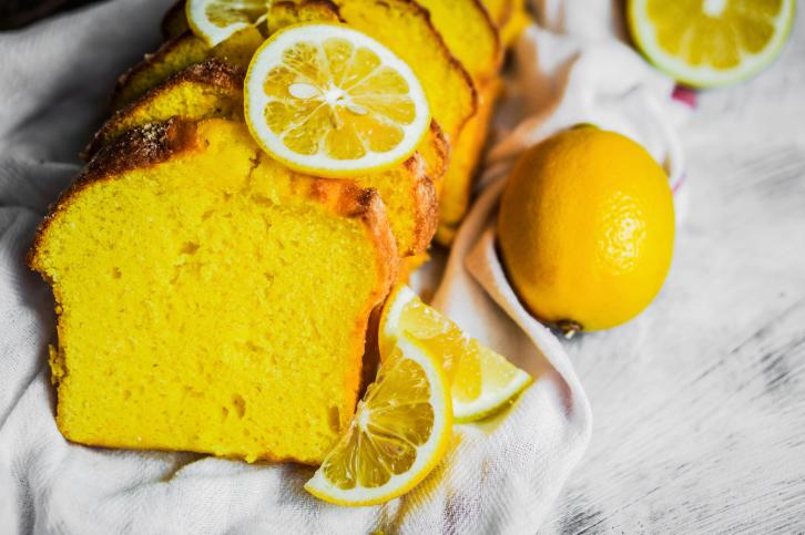 Plum Cake al limón