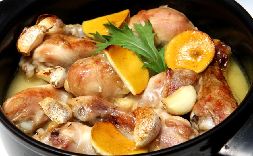 Pollo al limón ligero
