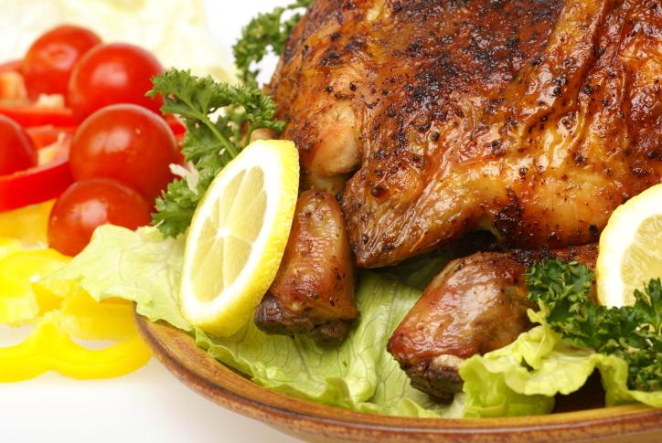 Pollo ligero al limón