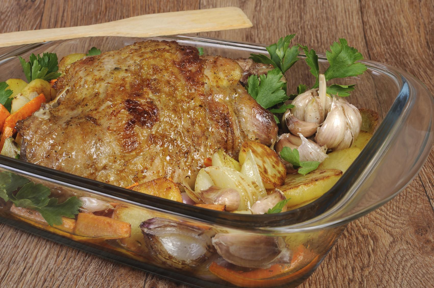 Pollo asado con patatas - receta de usuario