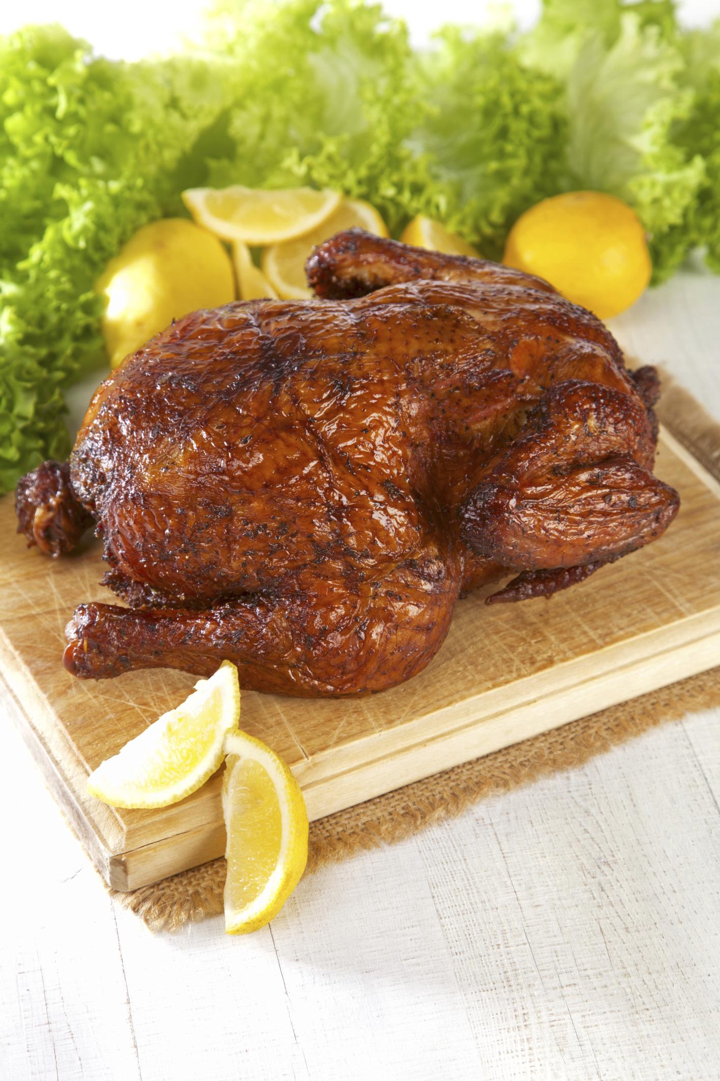 Pollo asado picante