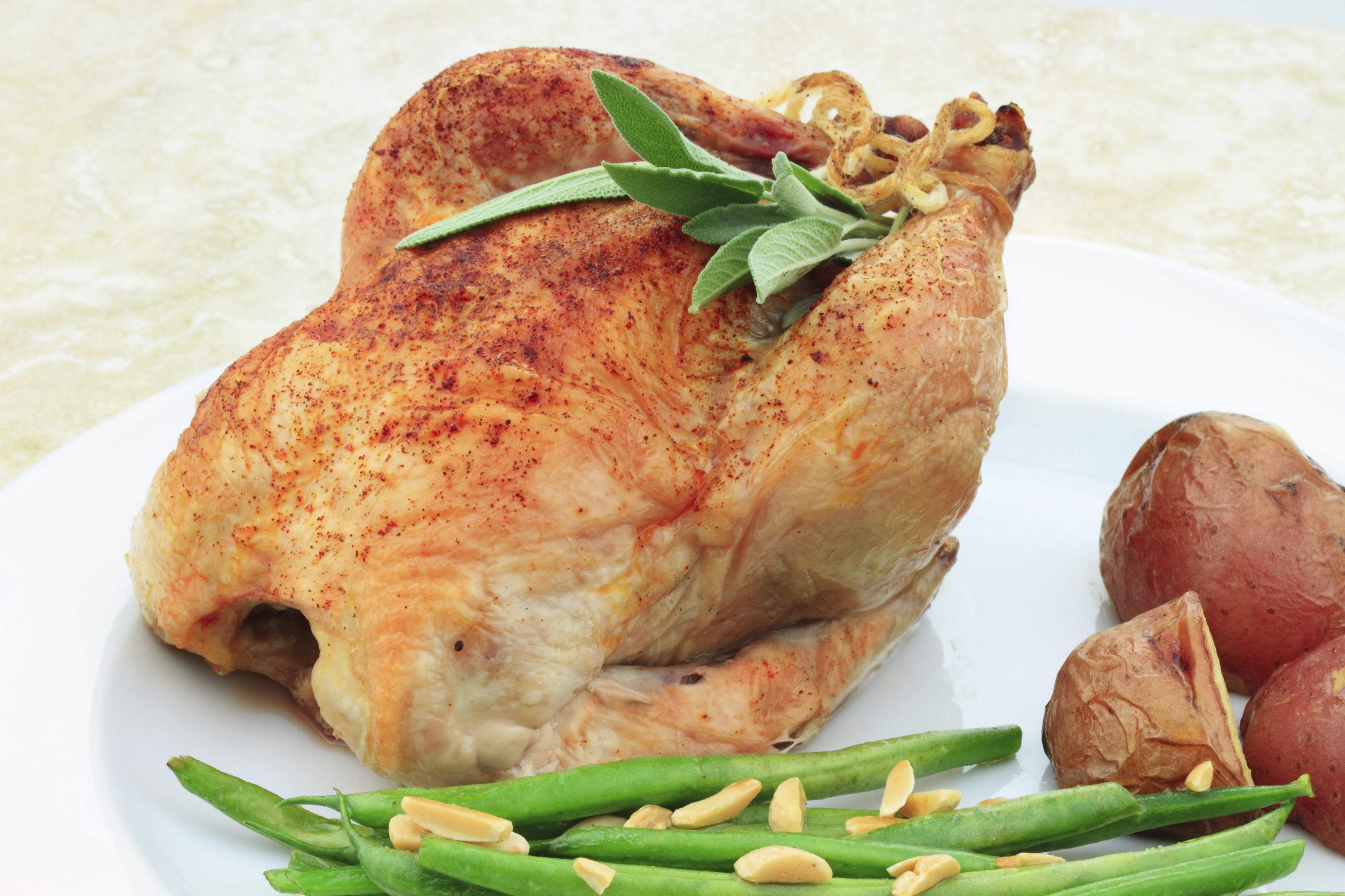 Pollo con canela y vino semidulce