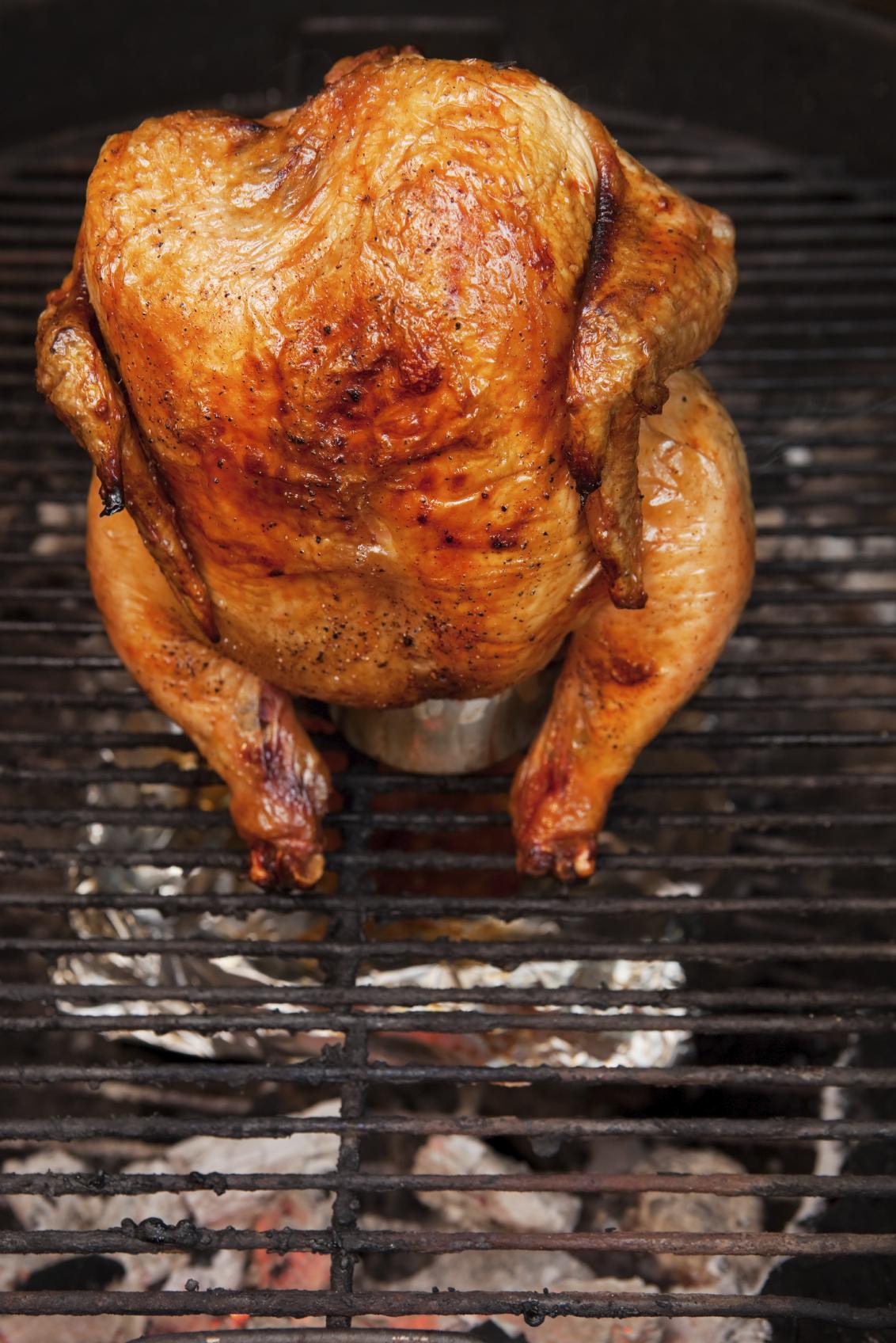Pollo a la alemana con salsa