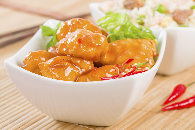 Pollo agridulce - receta de usuario