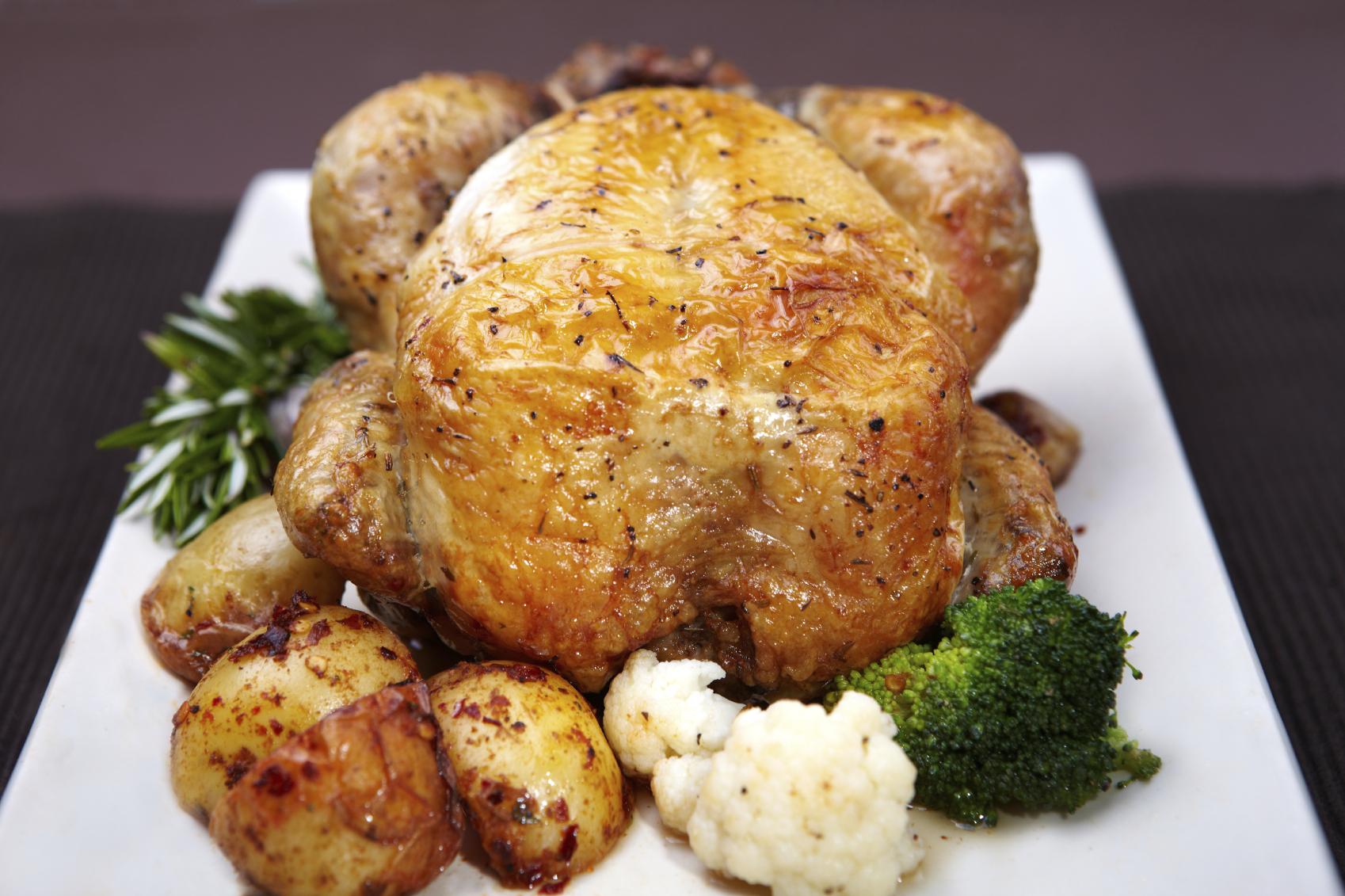Pollo relleno a los 4 quesos