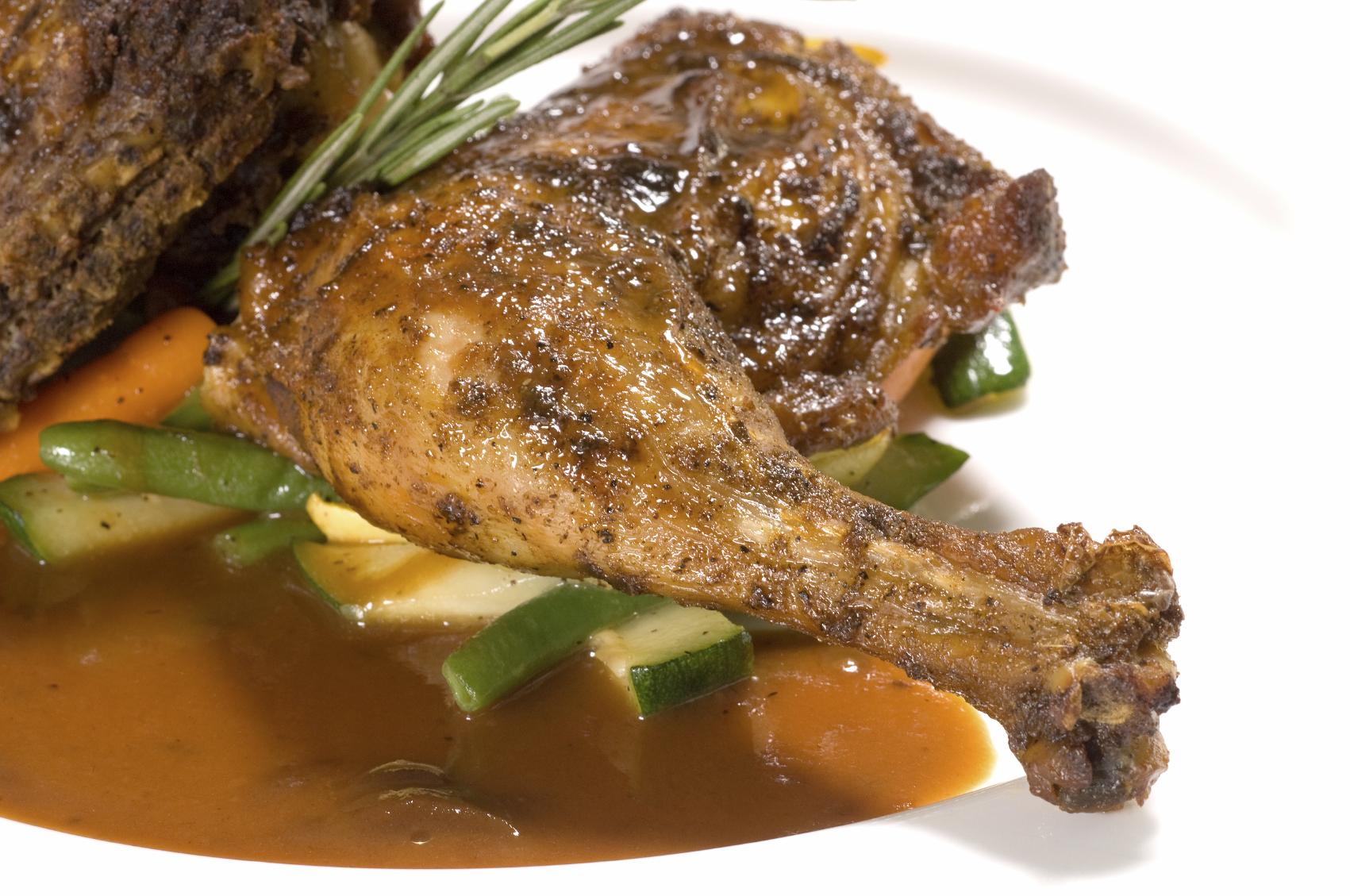 Pollo al romero fácil