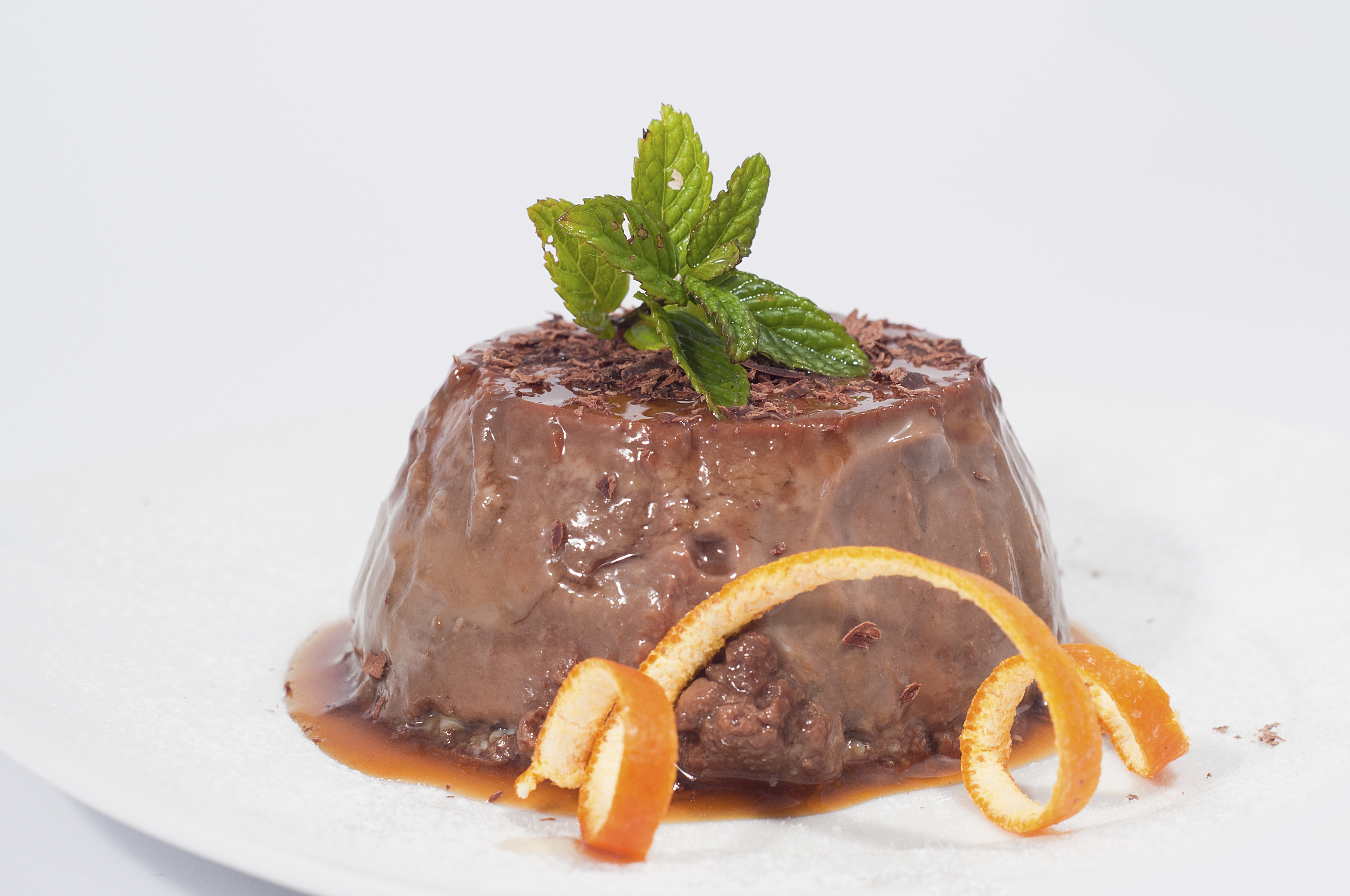 Pudding de chocolate fácil y rápido