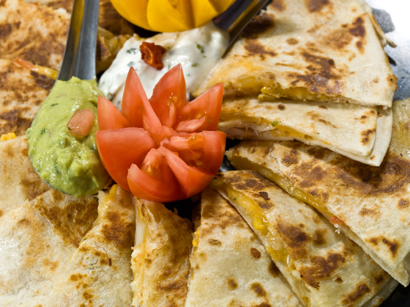 Quesadillas mexicanas