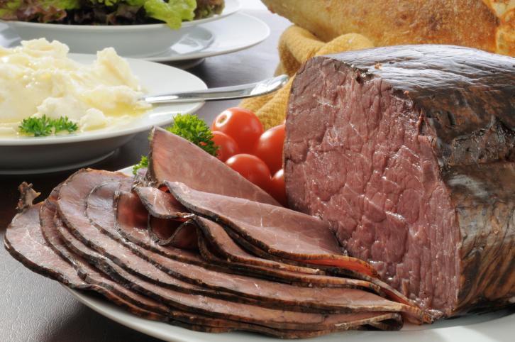 Roast beef de costillar estilo USA