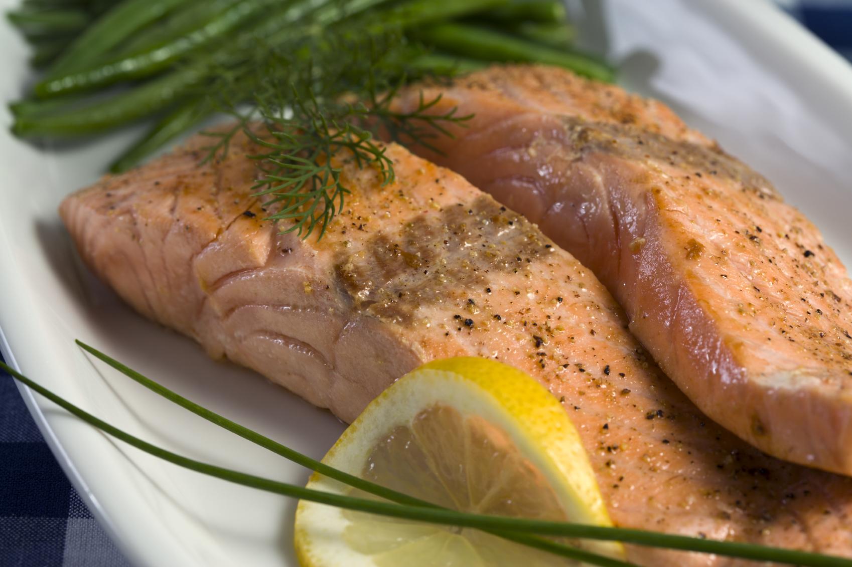 Recetas con salmon limon