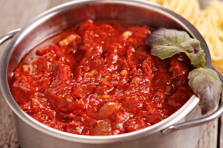 Salsa casera para espaguetis