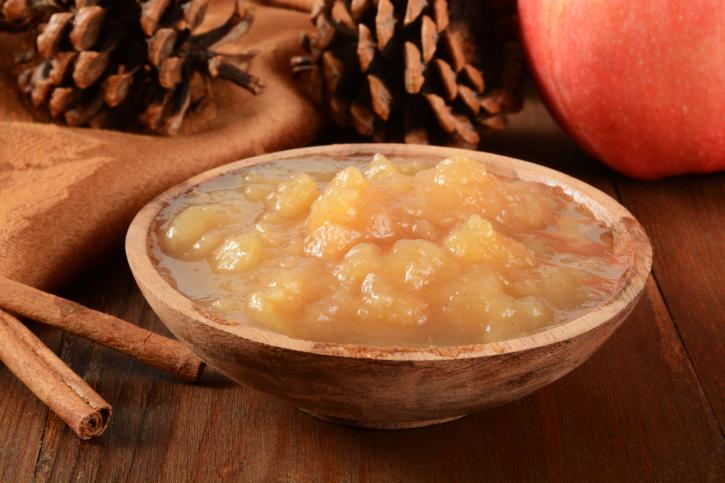 Salsa de manzana express