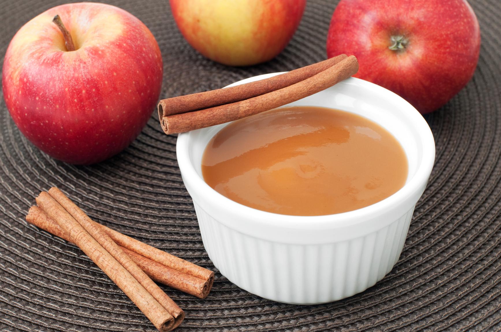 Salsa de manzana dulce al Pedro Ximenez para carne