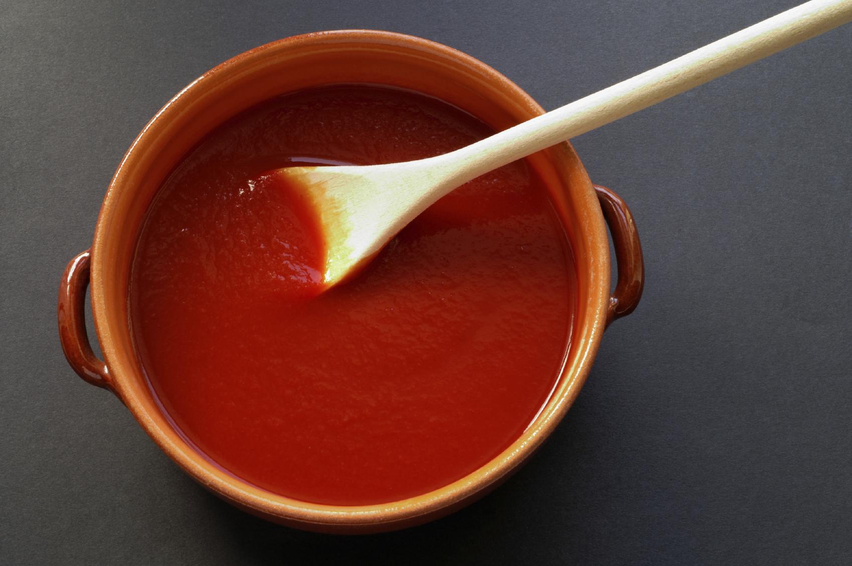 Salsa de tomates asados picante