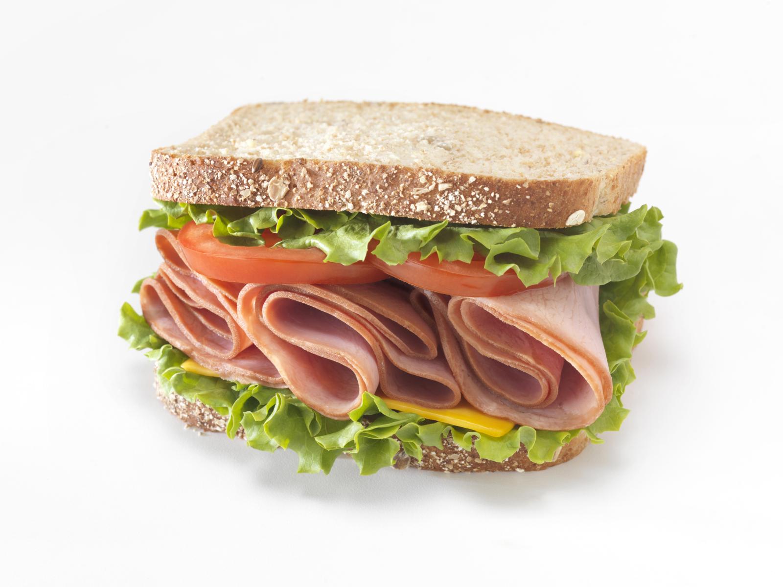 Sandwich de lomo con queso