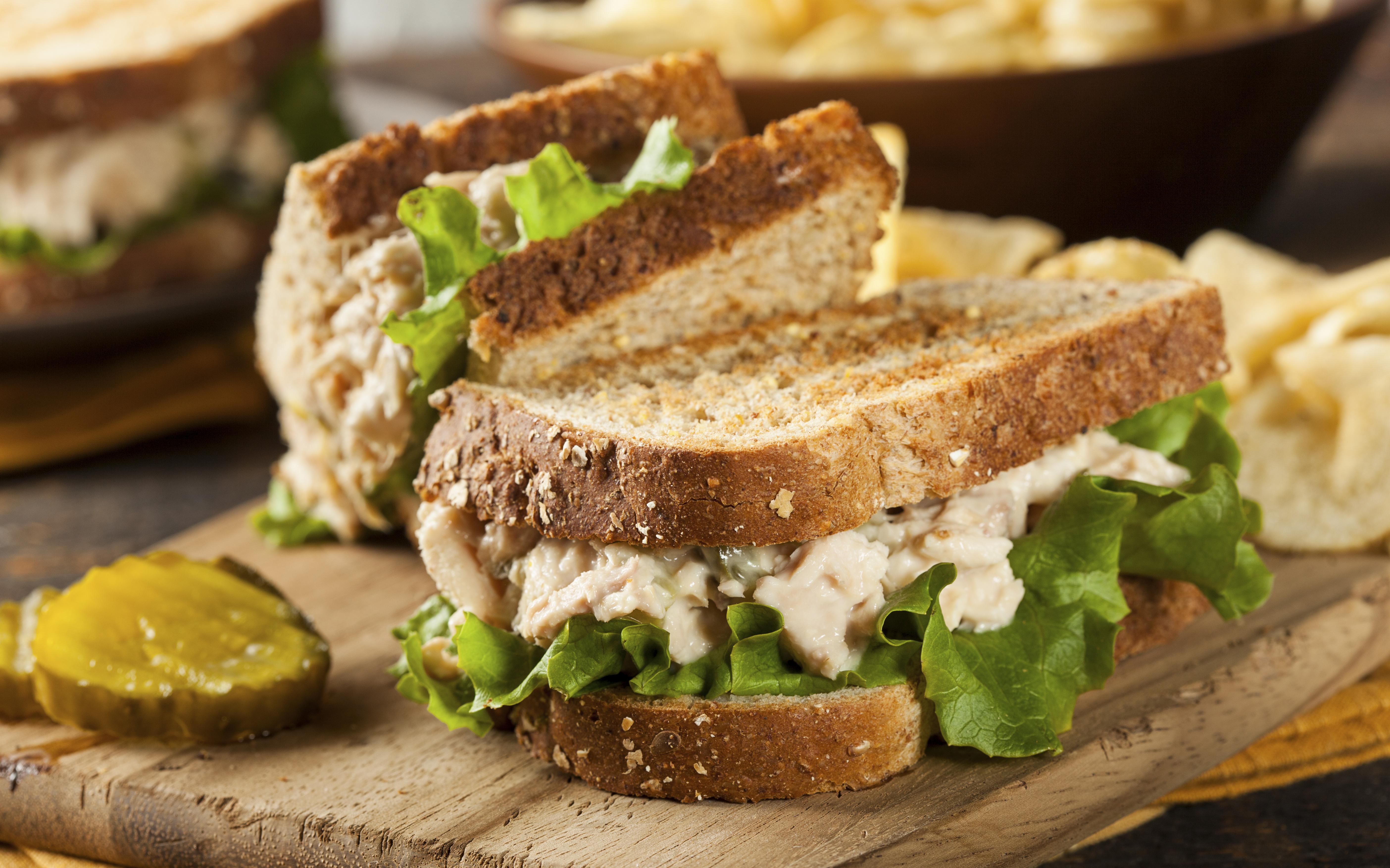 Sándwich de marisco