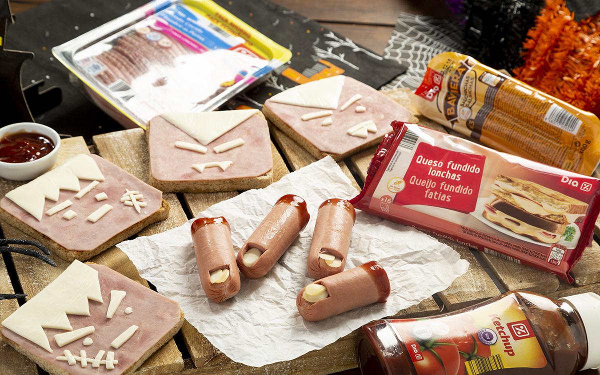 Sandwiches terroríficos y dedos amputados para Halloween