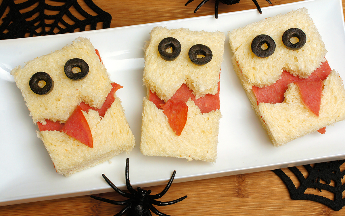 Sándwiches para Halloween
