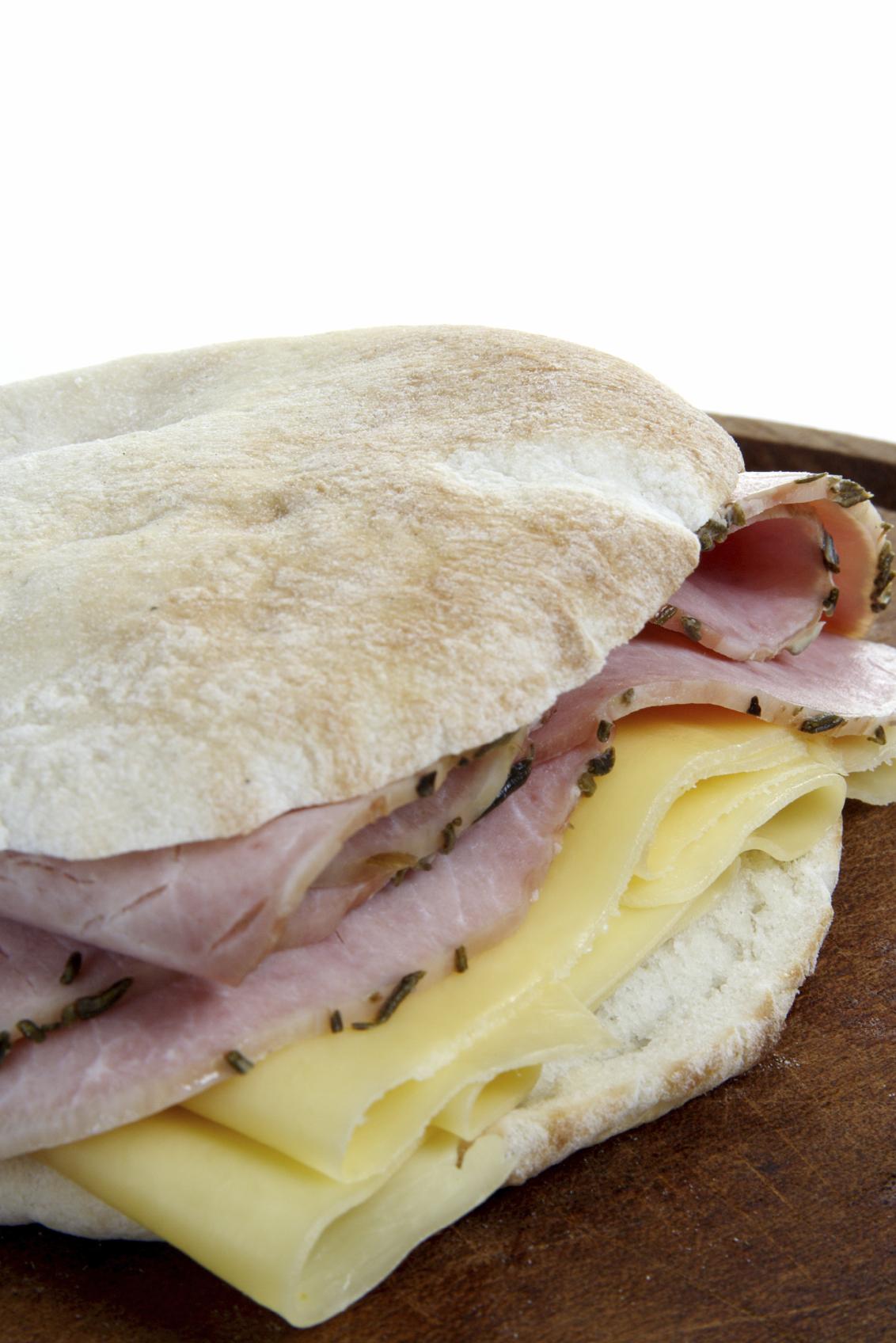 Sandwichs de lomo muy crujientes