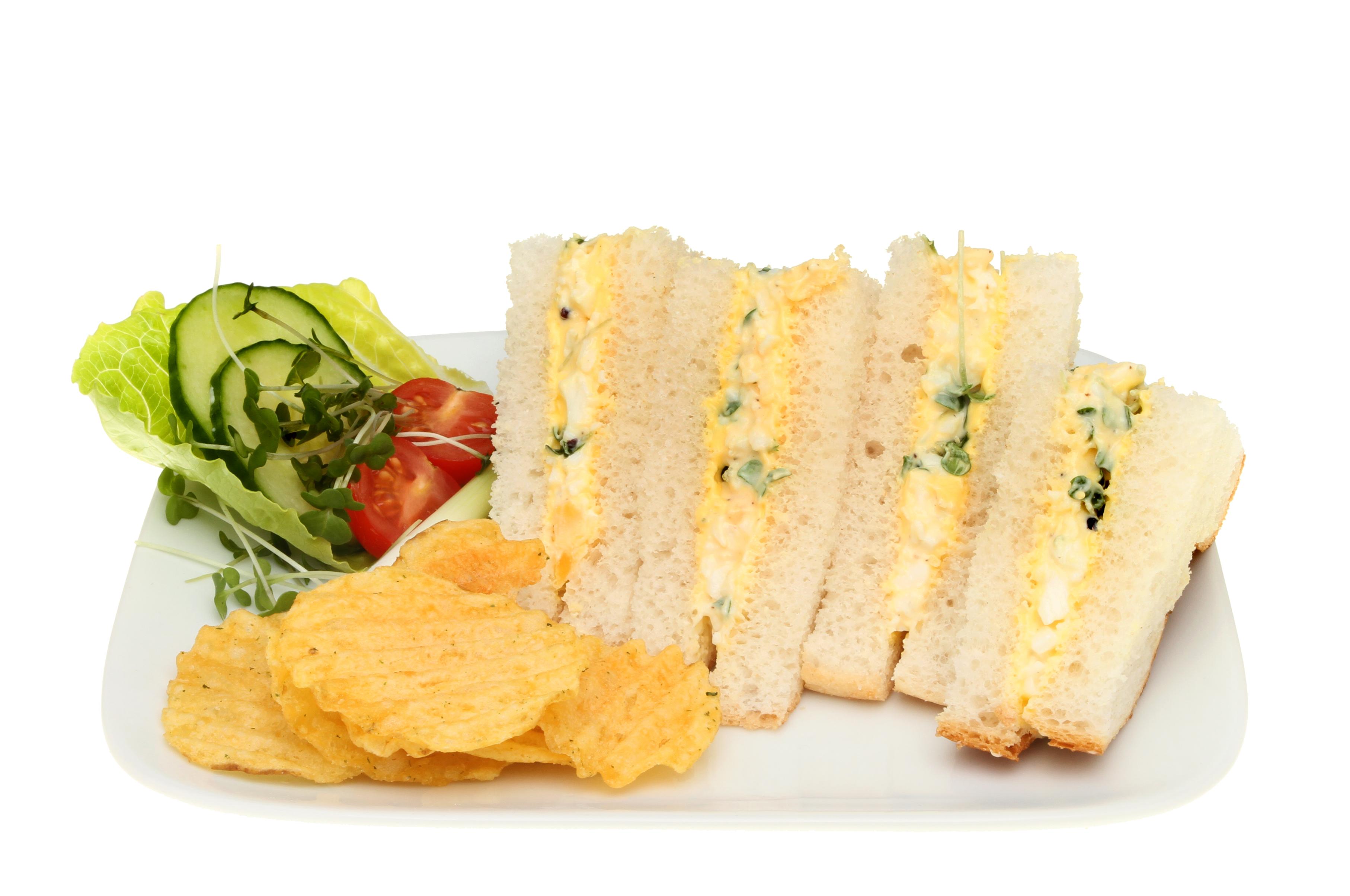 Mini sandwiches de pollo