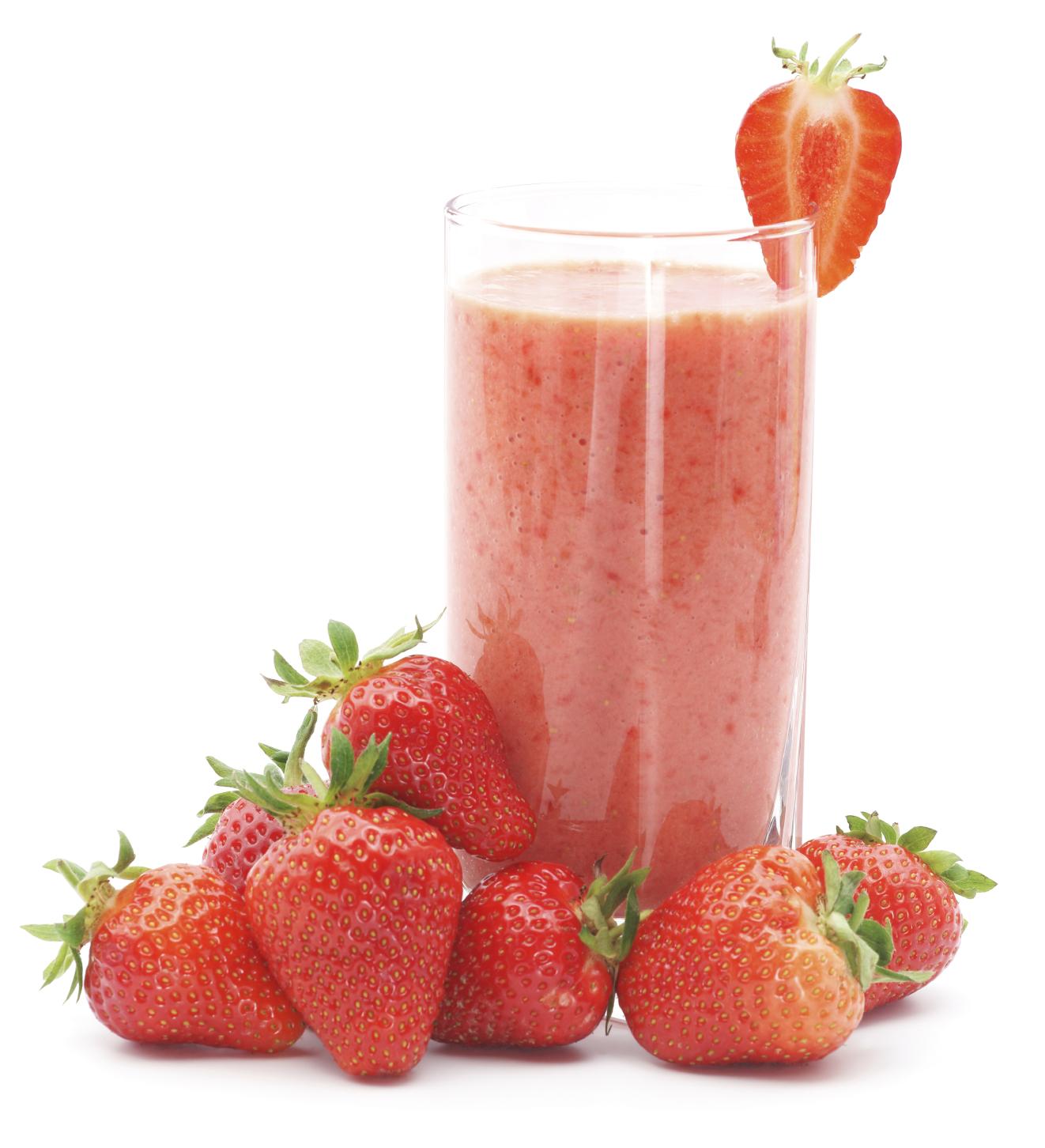 Smoothie de fresa y amaranto
