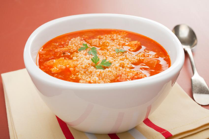 Sopa de cuscús