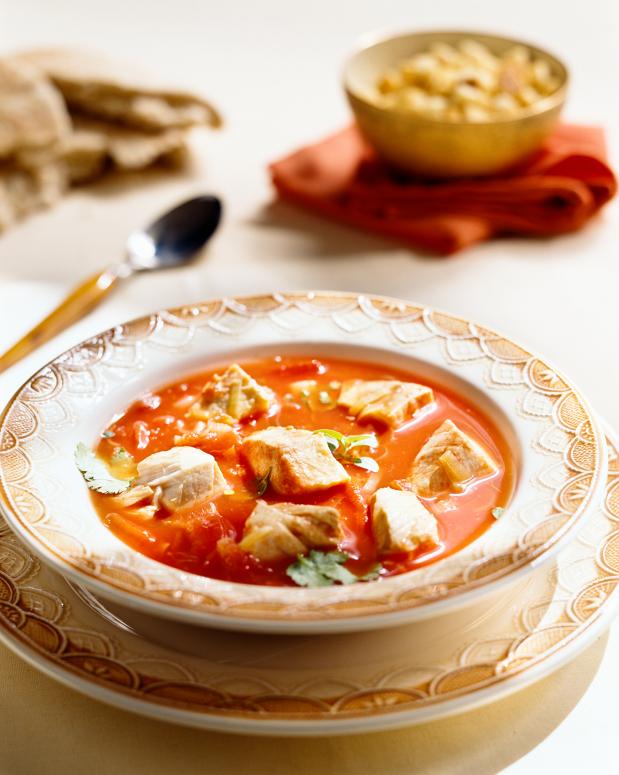 Sopa de Pescado al estilo Vasco