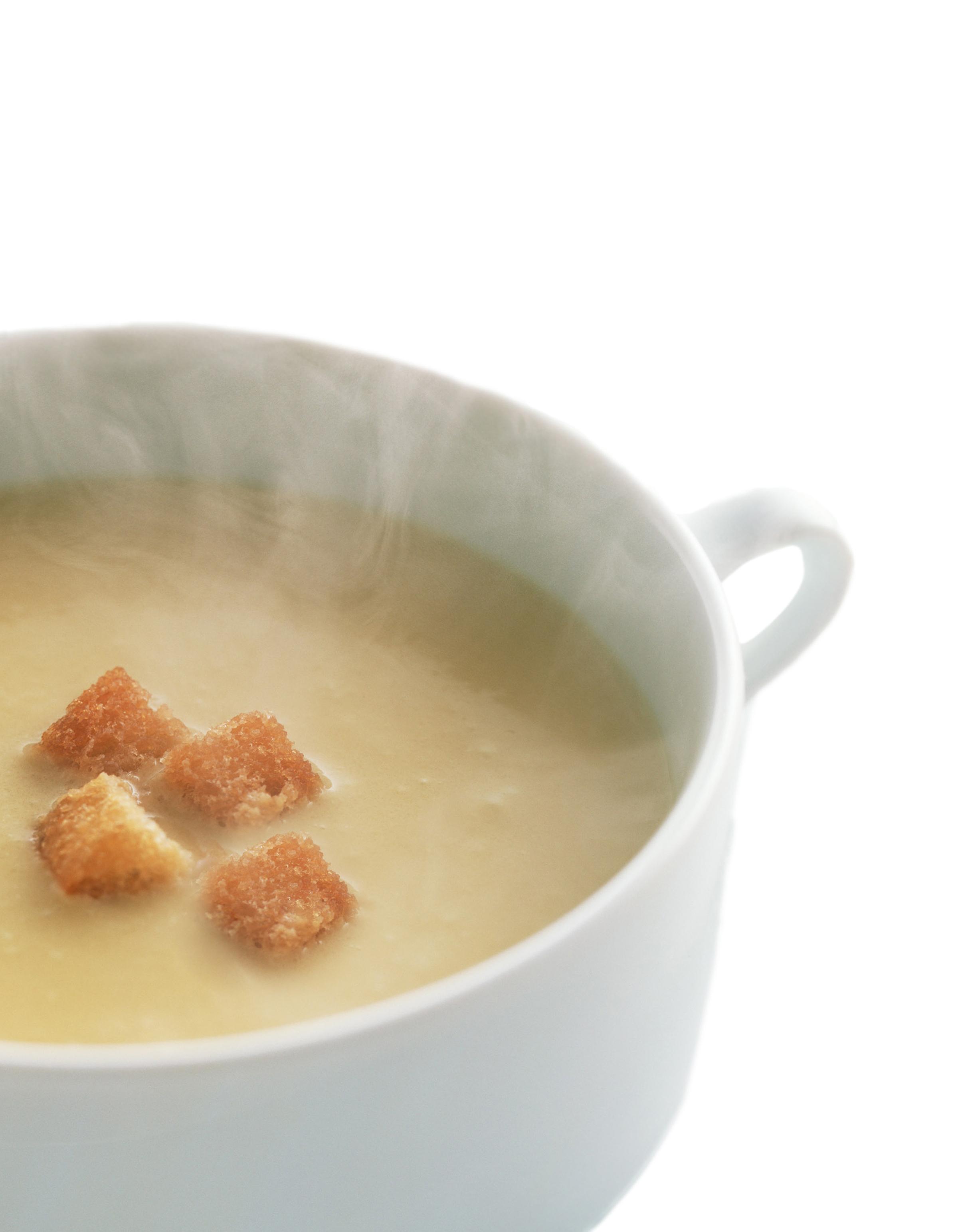 Sopa de patata y cebolla