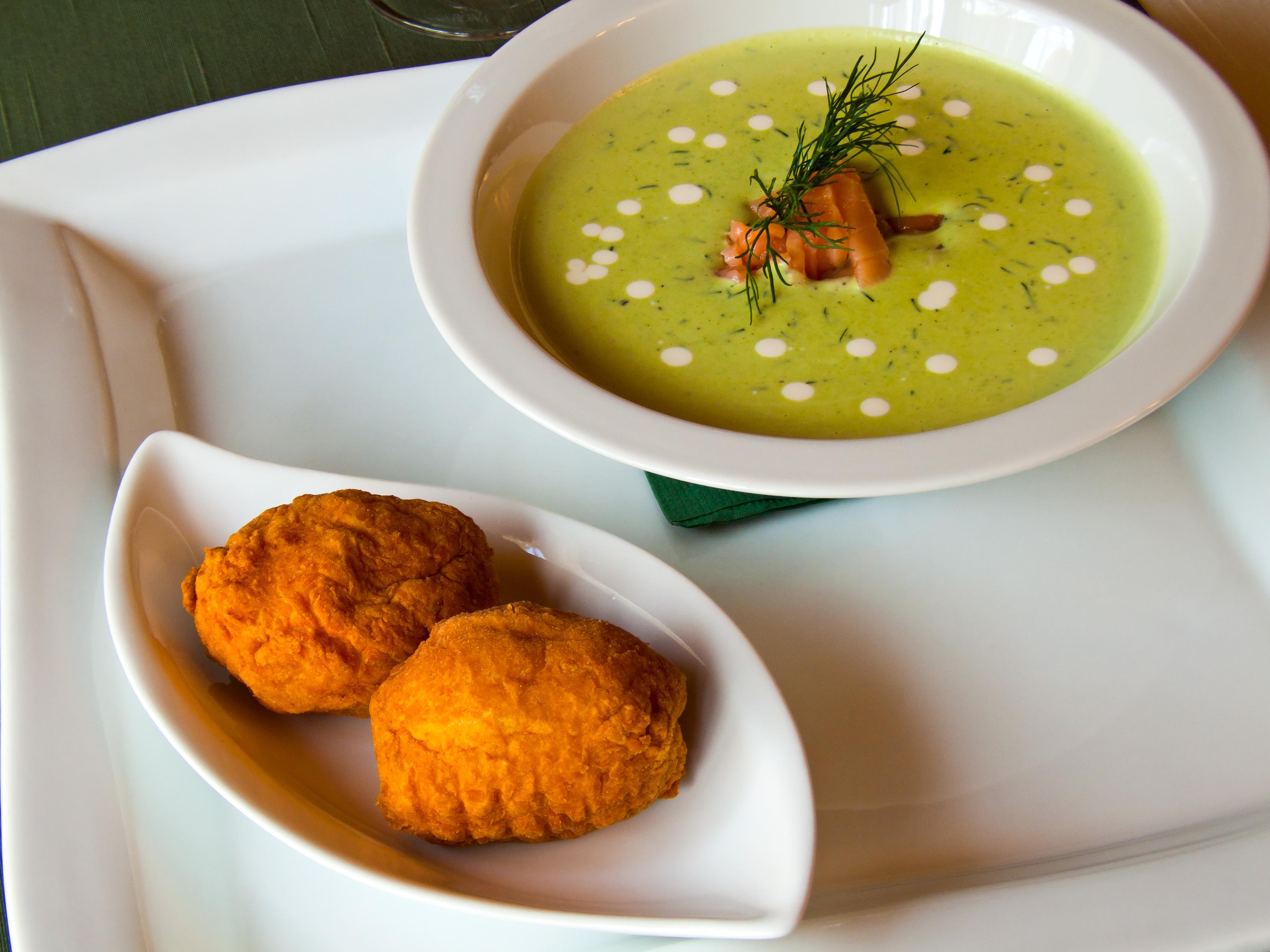 Sopa de perejil