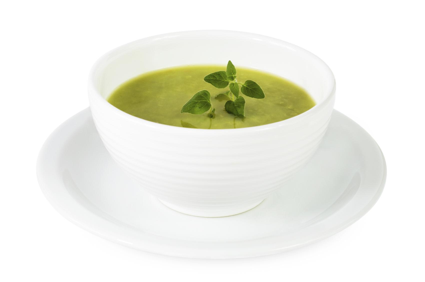 Sopa verde de invierno
