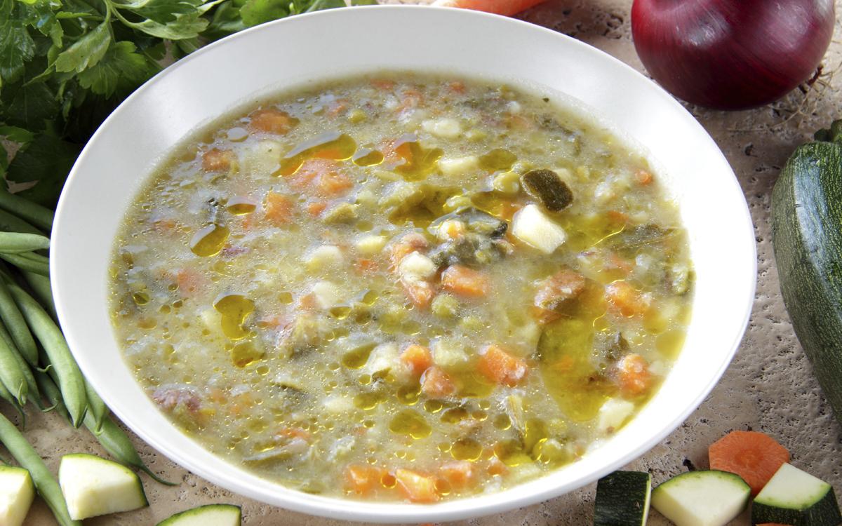 Sopa De Verduras Vegana